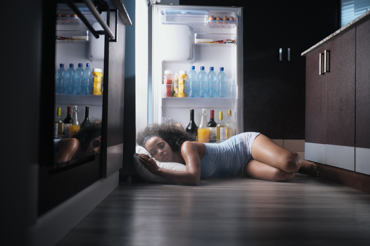 How to sleep well in the heat