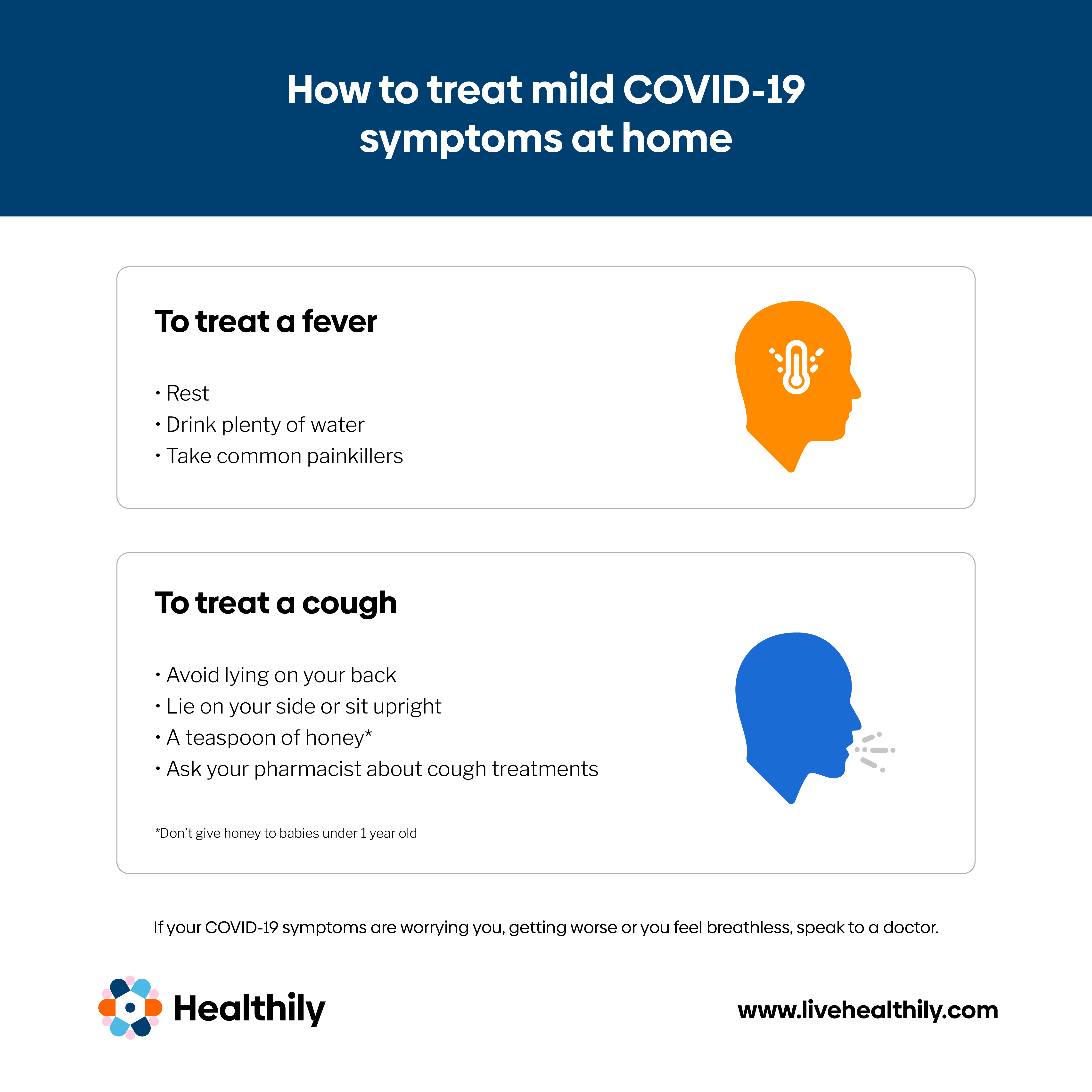How to treat mild COVID-19 symptoms at home