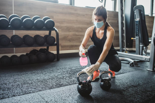 Coronavirus: How to stay safe at the gym