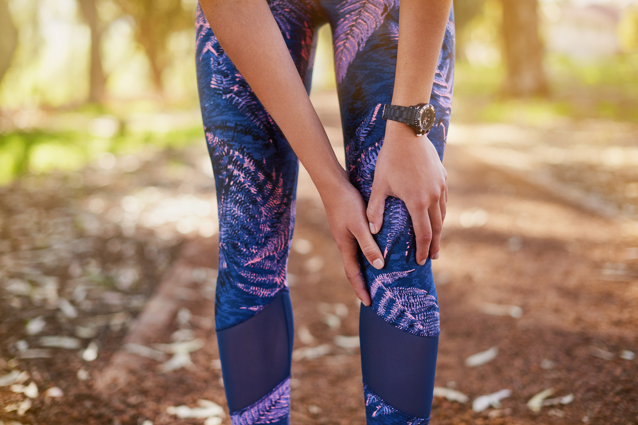 Why does my knee hurt during or after running?