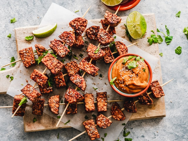 What is tempeh and what are its health benefits?