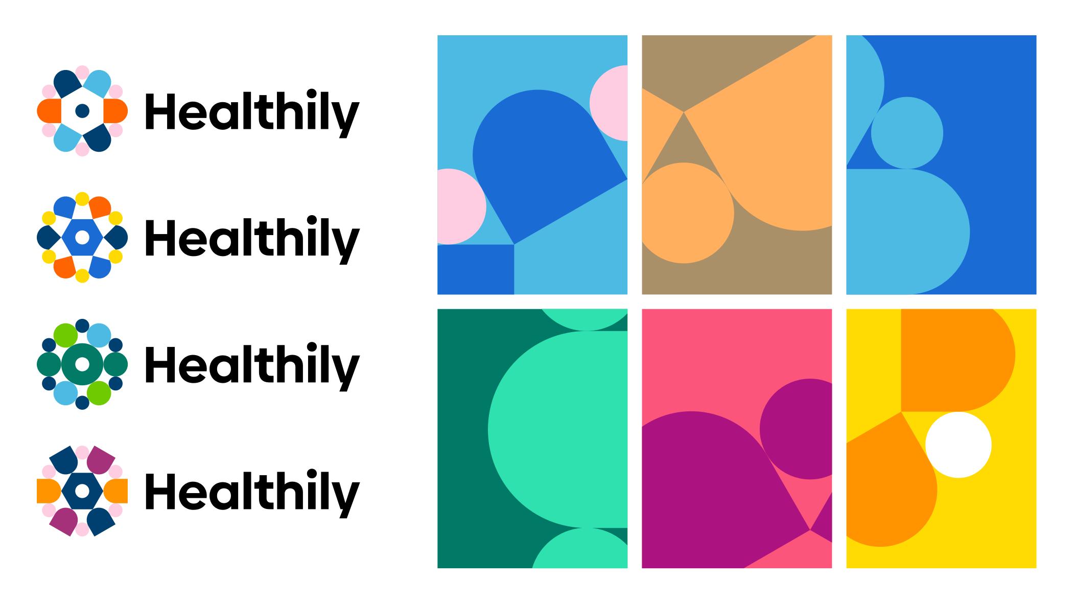 Healthily logos