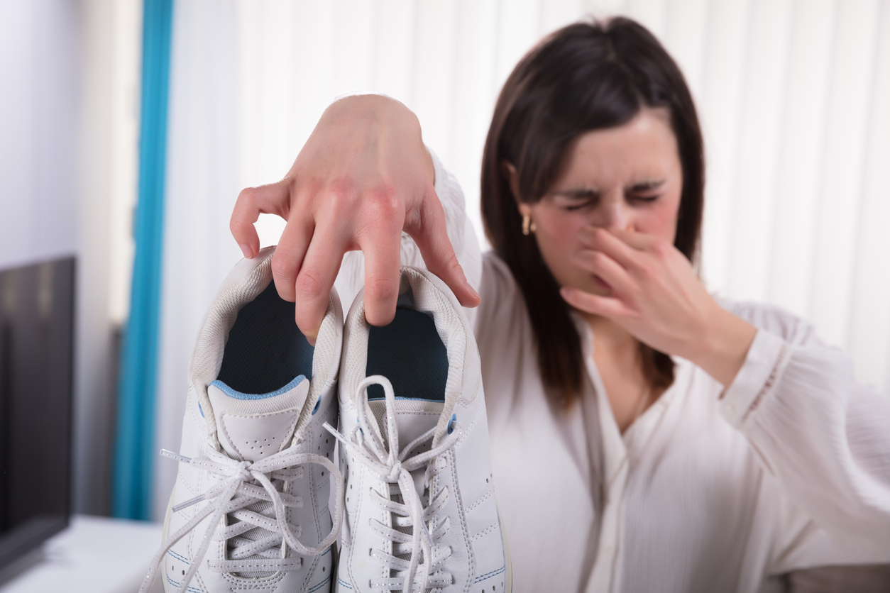 Getting help for smelly feet