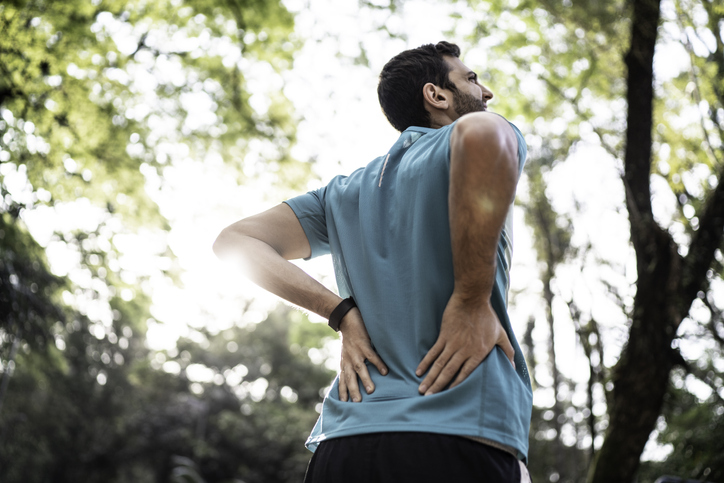 Causes of sharp lower back pain