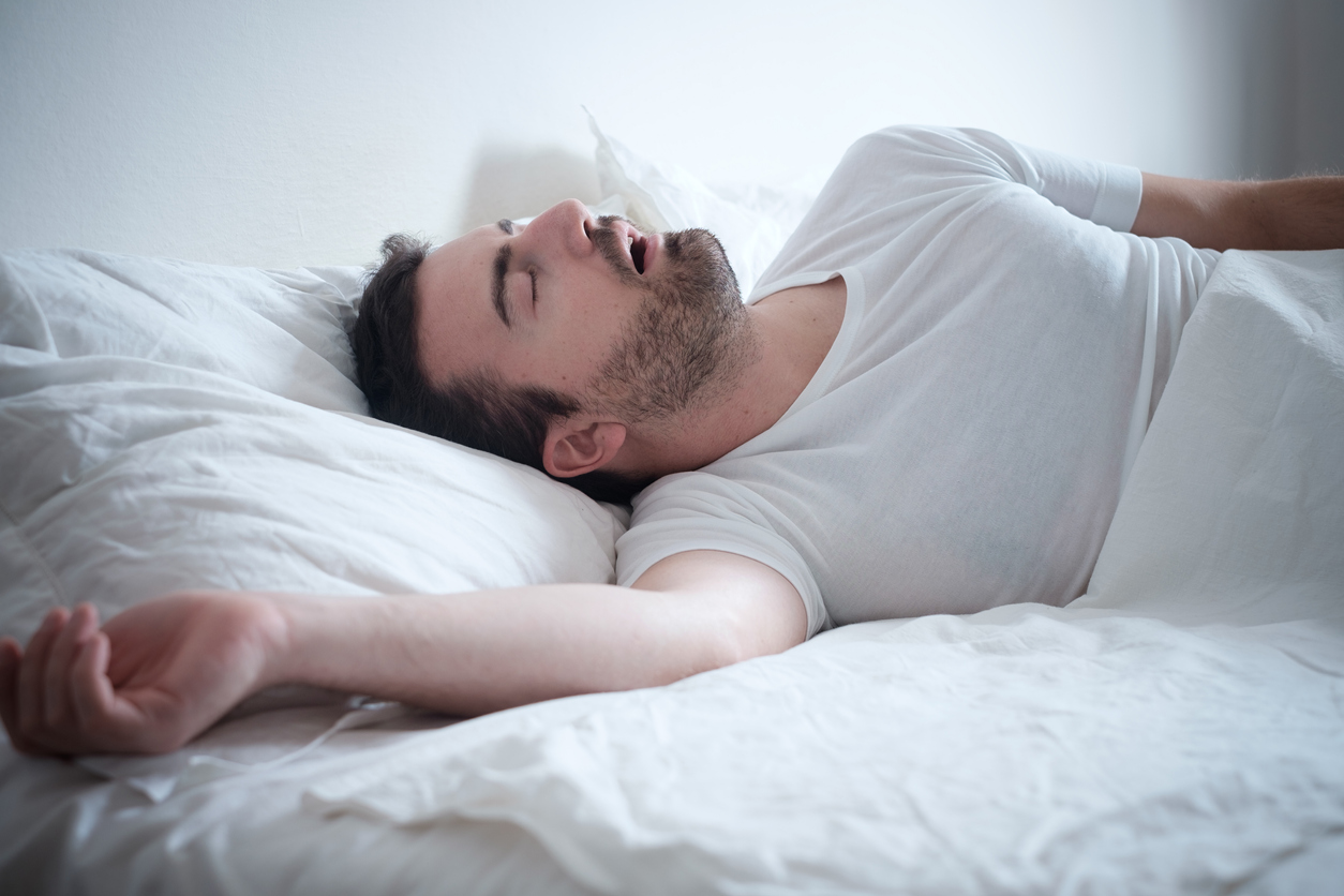Could losing tongue fat improve sleep apnoea?