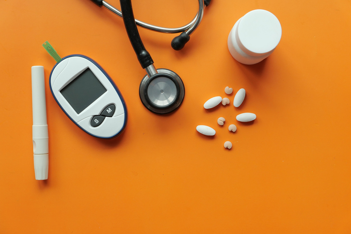 What are the health risks for people with diabetes?