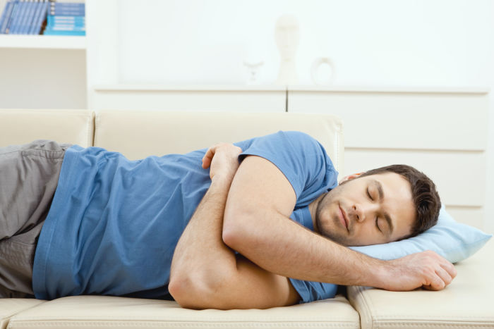 The best and worst sleeping position - sleeping on the side
