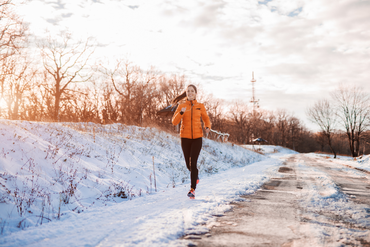 How to exercise outdoors in colder weather