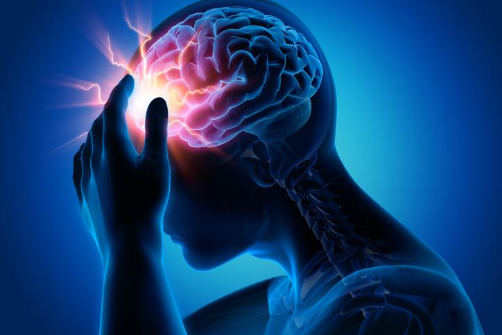 Severe brain damage