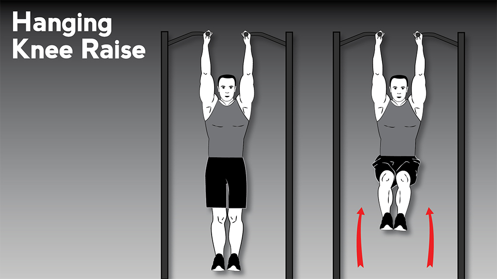 core strengthening exercises: SpartanBlog HangingKneeRaise