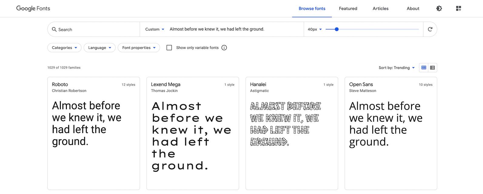 archive-fonts