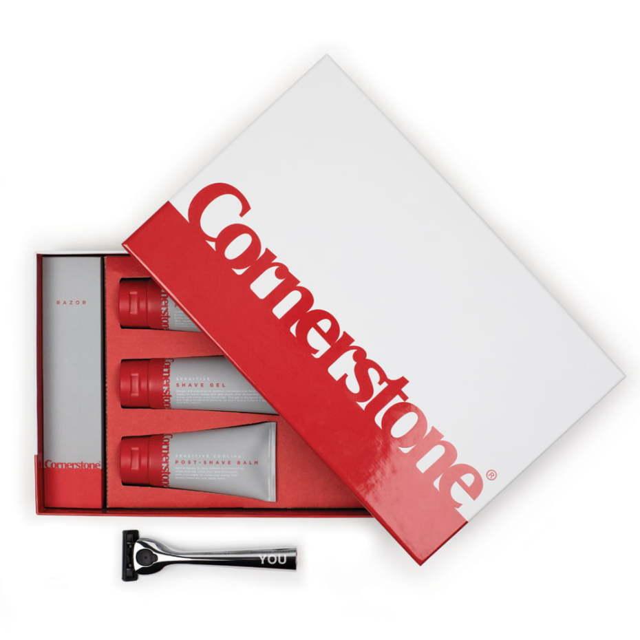 Men\'s Shaving Gift Set | Cornerstone