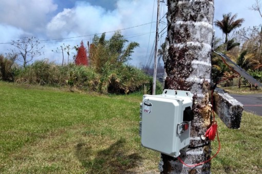 Scientists deploy an IoT network to battle Kilauea's deadly fumes