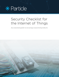 Security Checklist For The Internet of Things