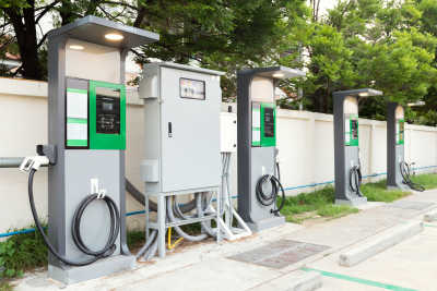 Electric Vehicle EV charging station