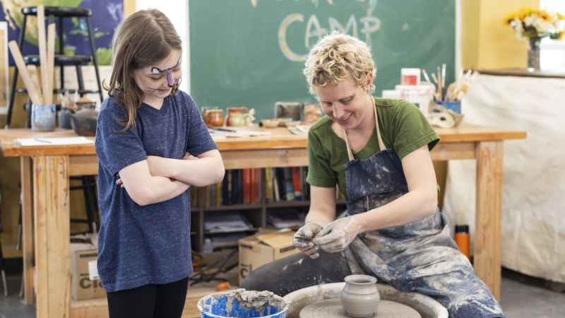 Ceramic Studio Pottery Camps