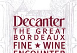 Decanter's Great Bordeaux Fine Wine Encounter