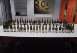 The Annual Clos Vougeot Tasting : Presenting 2009