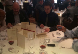 A showcase of Faiveley wines at the Annual Domaine Faiveley Grand Cru lunch