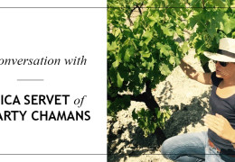 Jessica Servet Portrait - Winemaker at Hegarty Chamans