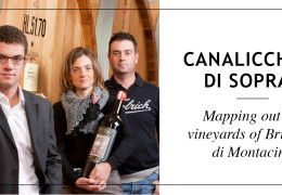 Canalicchio di Sopra - Mapping out the vineyards of Montalcino