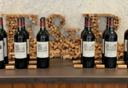 A visit from Domaines Barons de Rothschild