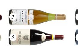 Six iconic Burgundy wines