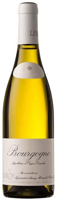 2017 Bourgogne Blanc (2021 Release) Maison Leroy Burgundy  France Still wine