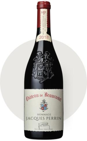 2018 Chateauneuf du Pape Hommage Jacques Perrin Chateau de Beaucastel Rhone  France Still wine
