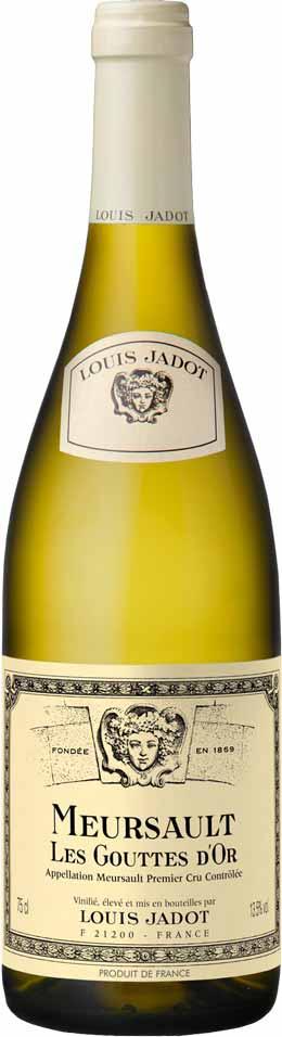 2019 Meursault Goutte d'Or Louis Jadot Burgundy Meursault France Still wine