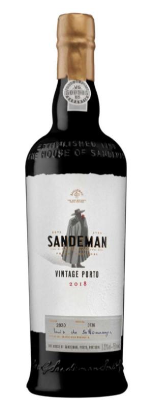 2018 Sandeman Sandeman Port  Portugal Fortified wine