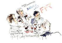 Roberto Voerzio hosts Fine+Rare Event at Luca Restaurant