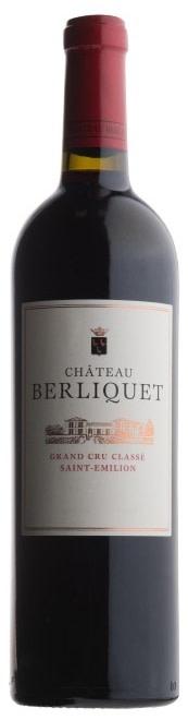 2019 Berliquet Berliquet Bordeaux St Emilion France Still wine