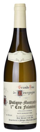 2019 Puligny Montrachet Les Folatieres Paul Pernot Burgundy Puligny Montrachet France Still wine