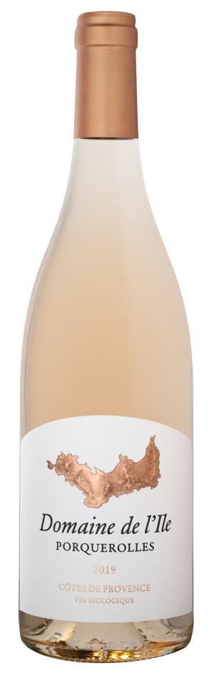 2019 Cotes de Provence Porquerolles Rose Domaine de l'Ile Provence  France Still wine