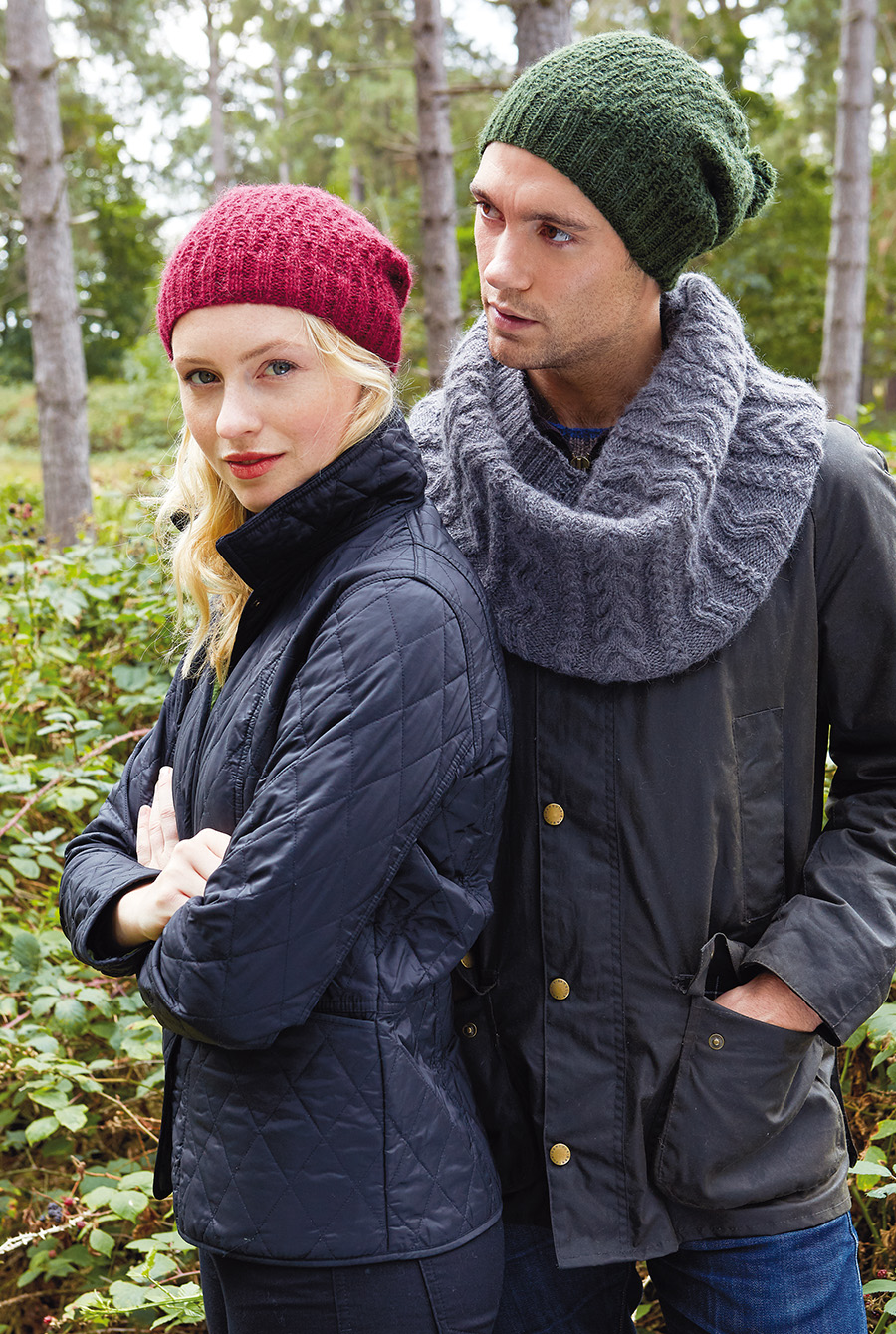 Buckler Hat and Curlew Cowl Moordale Collection