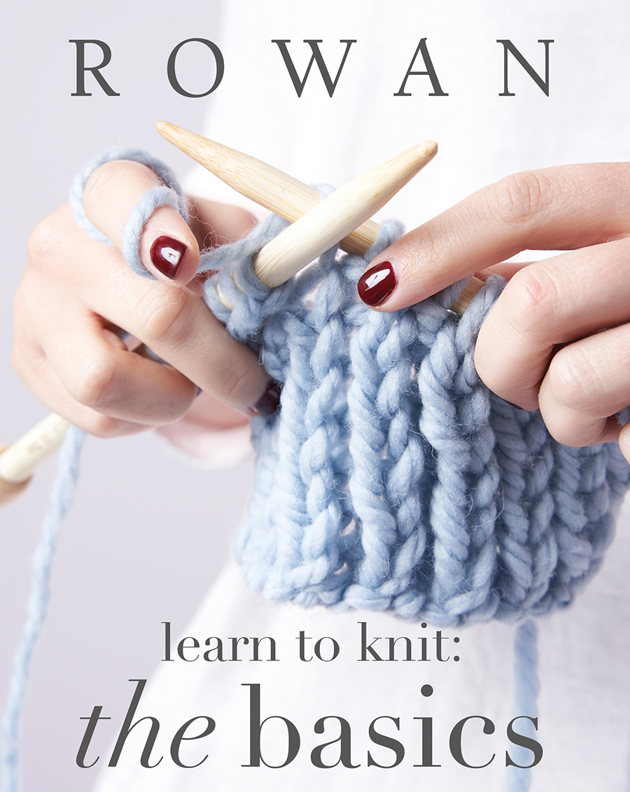 LEARN TO KNIT:  THE BASICS BOOK COVER
