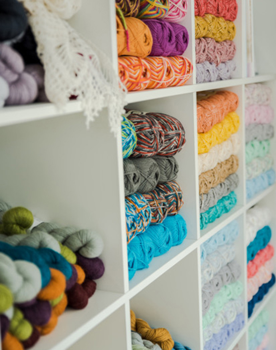 Baa! Yarn Shelf