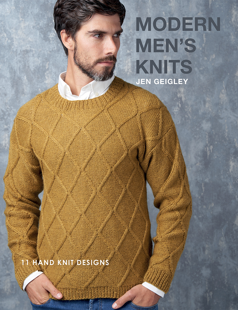 Modern Mens Knits Cover