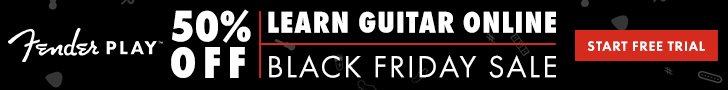 Fender Play Black Friday 2017
