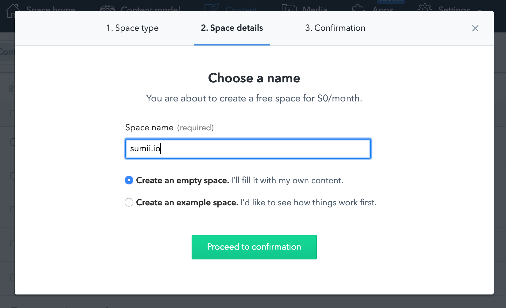 contentful-space-details