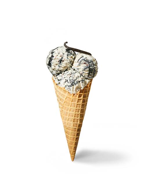 Daily Harvest Vanilla + Salted, Swirled Black Sesame Scoops