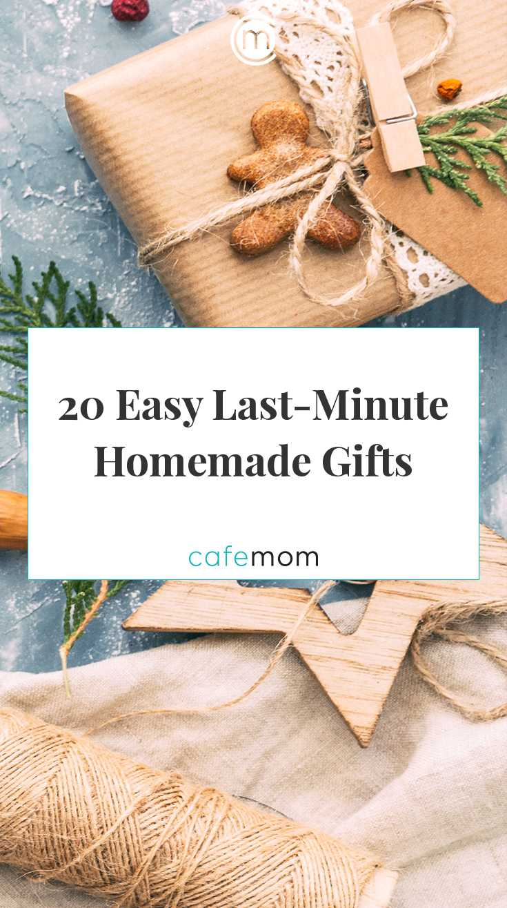 20 Easy Last Minute Homemade Christmas Gifts Cafemom Com