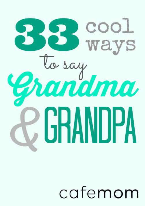 Funny Granny Names