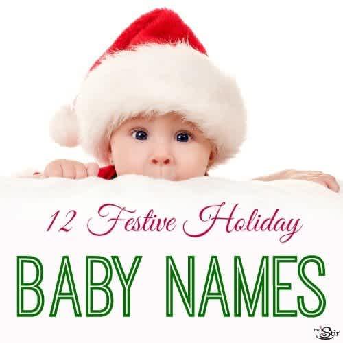 The 12 Baby Names Of Christmas Cafemom Com