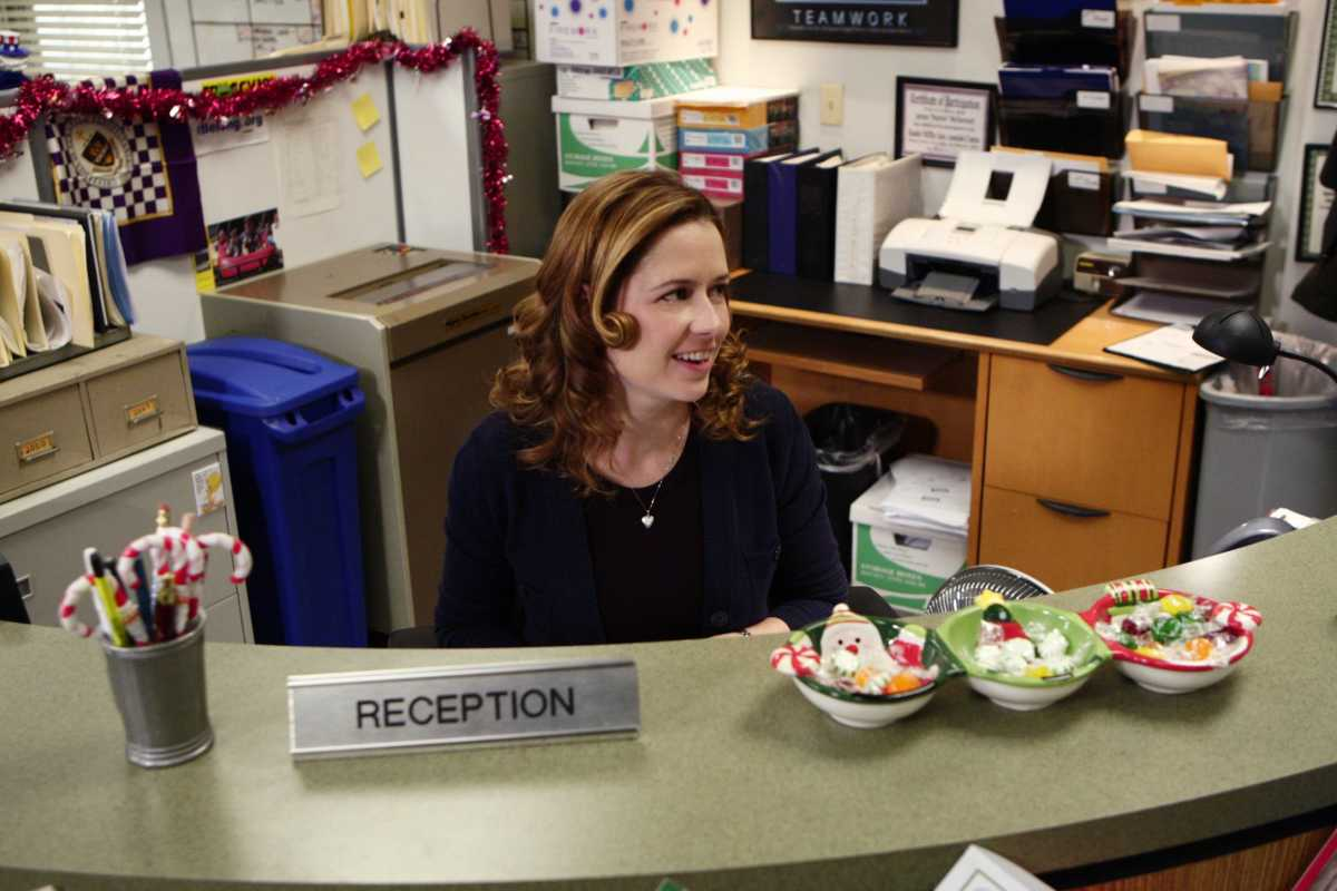 Jenna Fischer in the 'Office'
