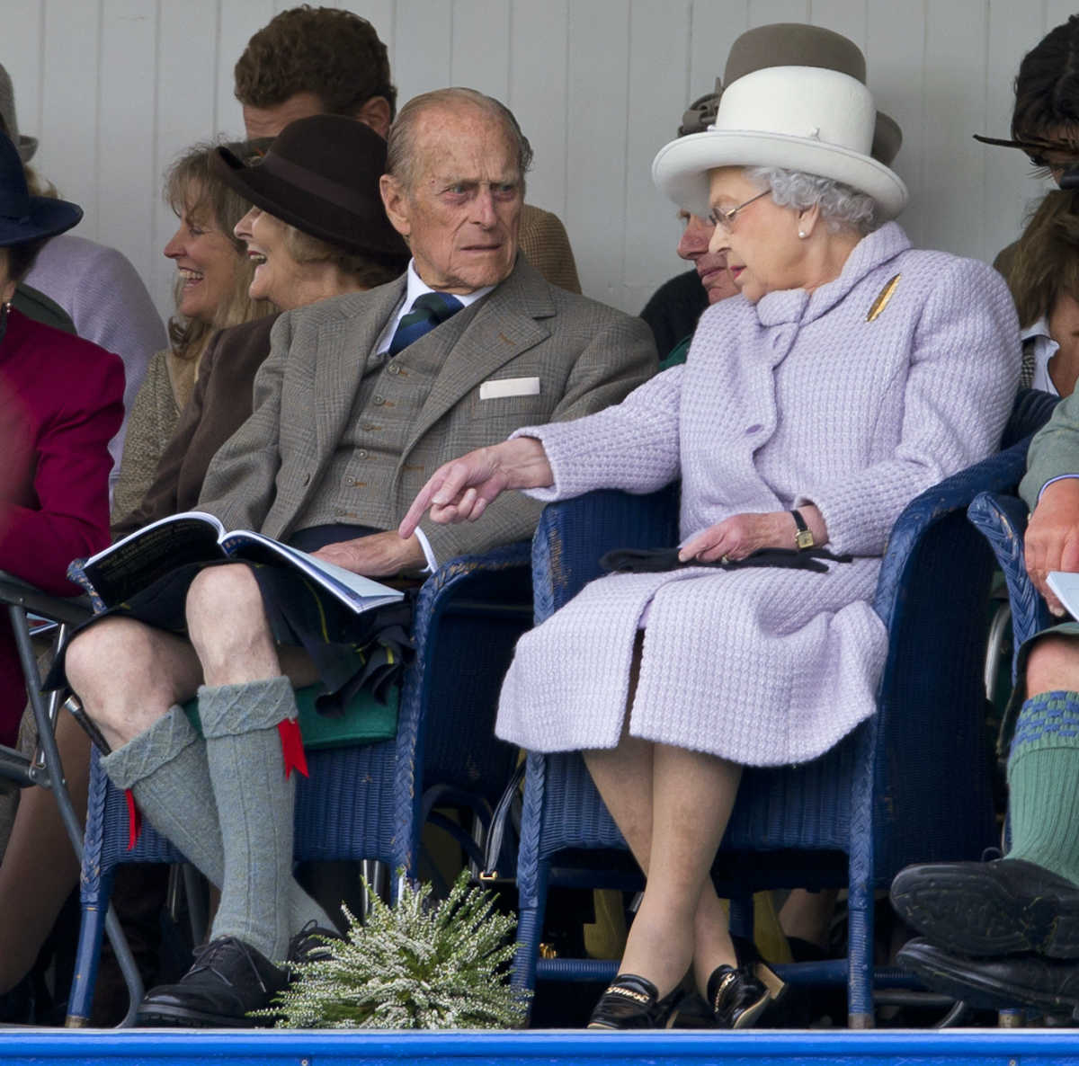 Prince Philip kilt Queen Elizabeth