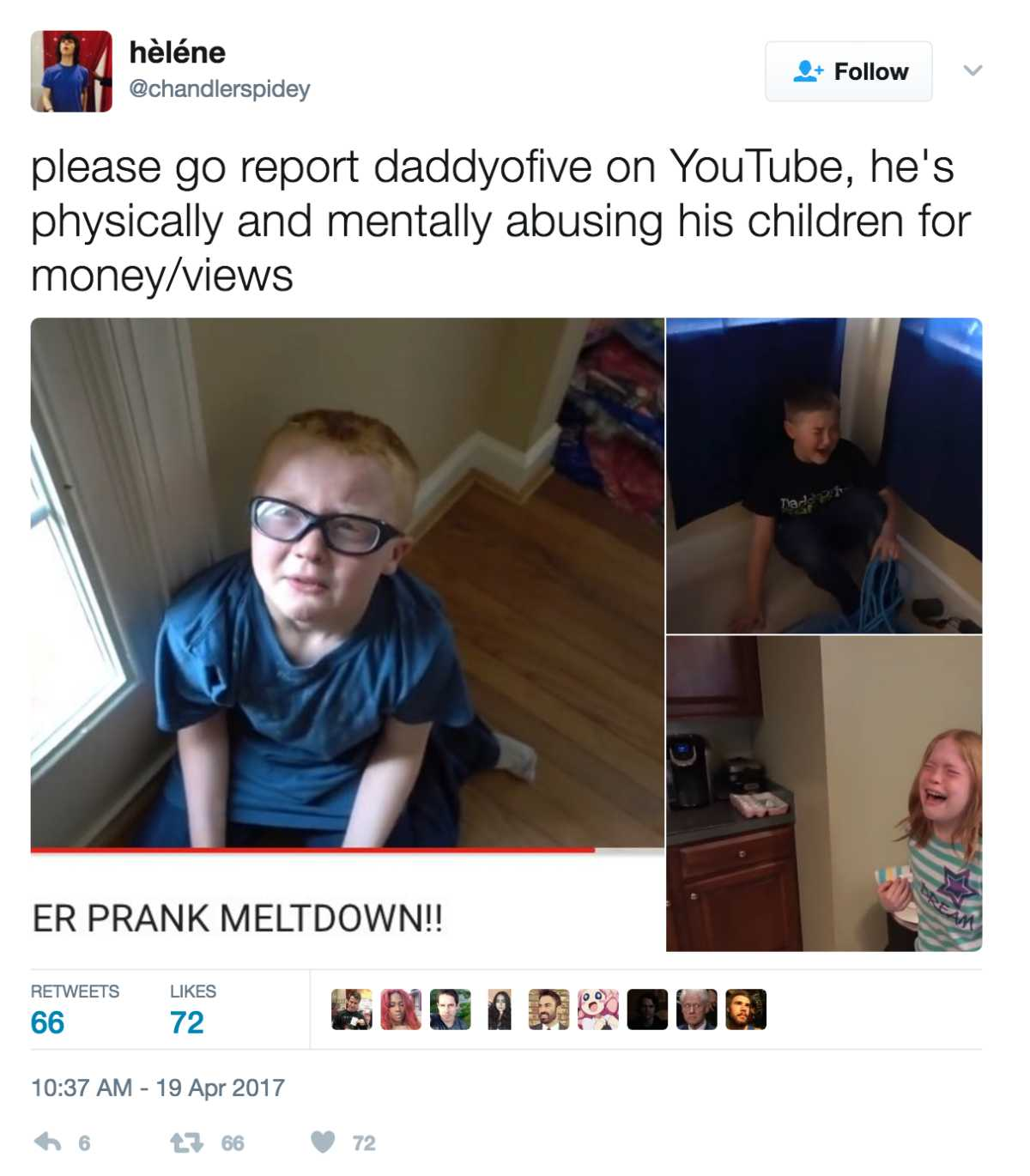 Parents Accused Of Abusing Their Kids With Cruel Youtube Pranks Cafemom Com