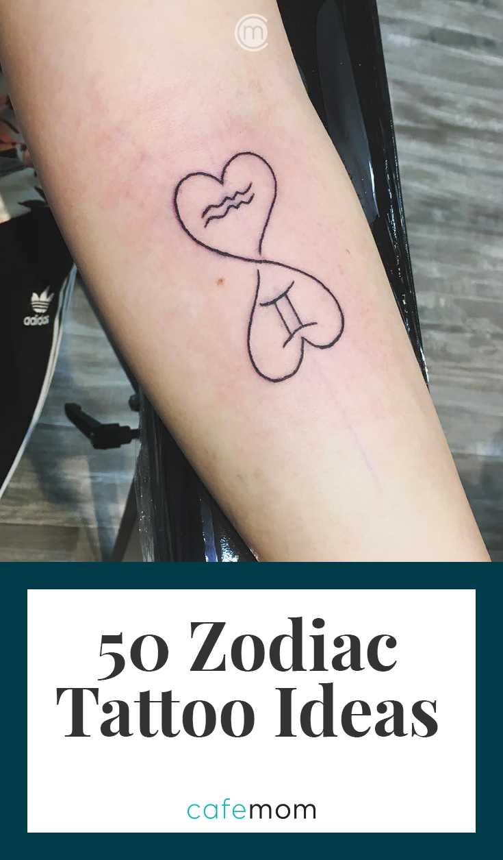 50 Zodiac Tattoos That Are Out Of This World Cafemom Com A while back, people got zodiac tattoos consisting of their afferent symbols. 50 zodiac tattoos that are out of this