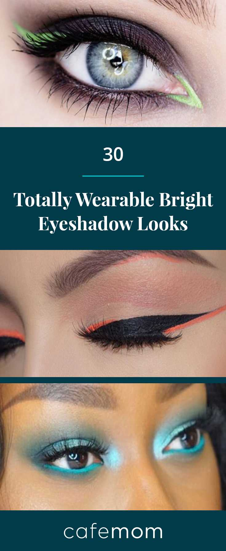 30 Bright Eyeshadow Looks Anyone Can Pull Off Cafemom Com